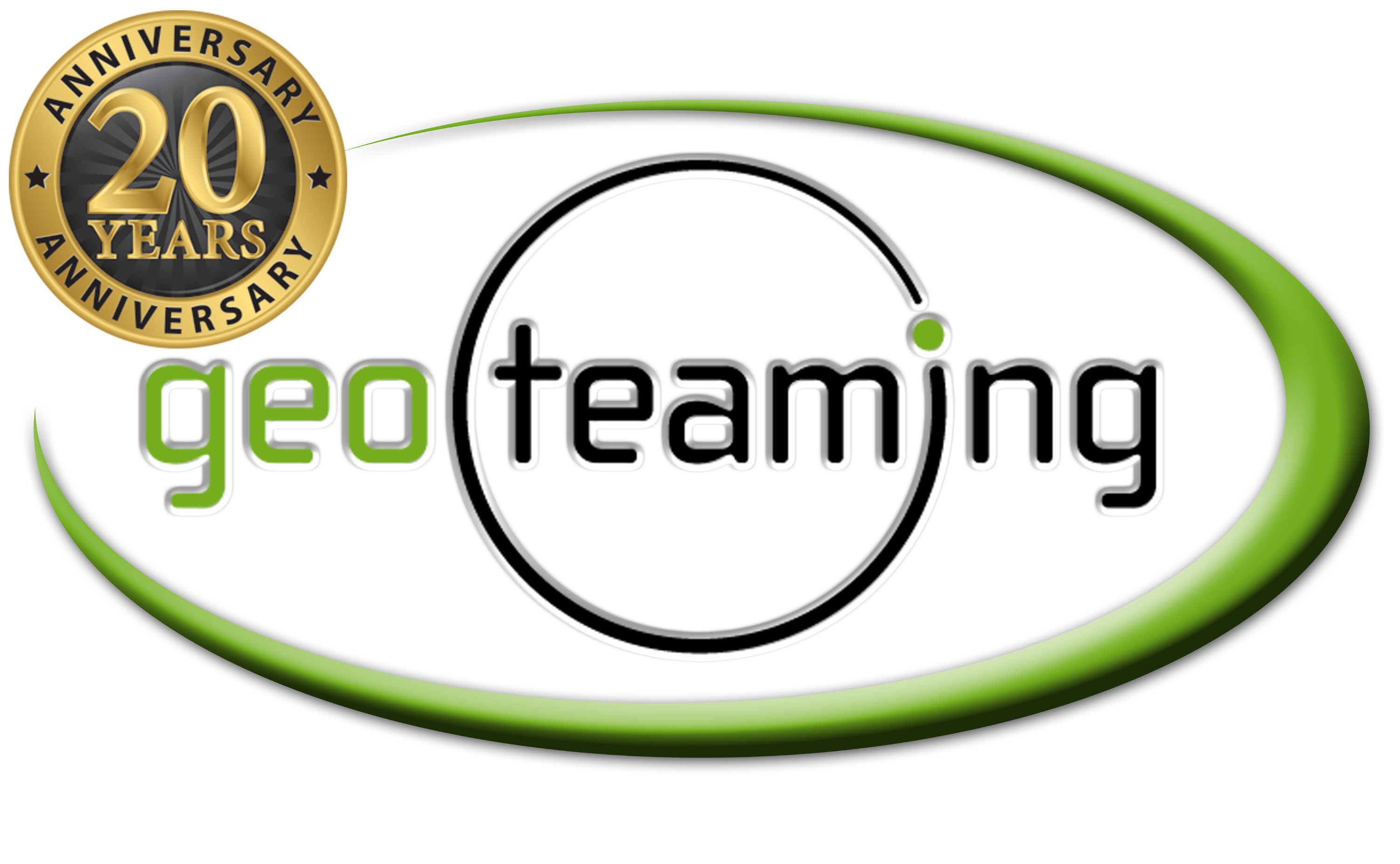 170122 20th Anniversary Geoteaming Logo